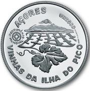 2,50 euros Paysage viticole de l'île du Pico (argent) – revers