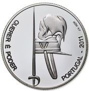 2,50 euros Académie militaire (argent) – revers