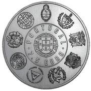 7,5 euros Madère (argent 500‰) -  avers