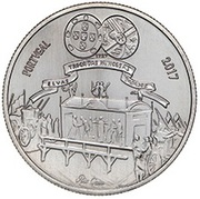 5 euros D. Maria Bárbara -  revers