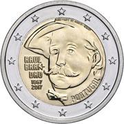 2 euros Raul Brandão -  avers