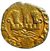 Ceitil (Groupe 6 - Château avec mur bas, avec ou sans porte, toutes les tours loin du mur) - Jean III – avers