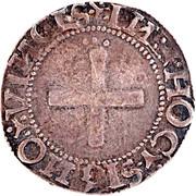Real portugais (croix simple, Lisbonne frappe) - Jean III -  revers