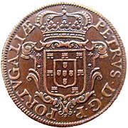 1½ real – Piérre prince regent – avers