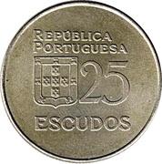 25 escudos – revers