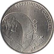 2,50 euros Fado (cupronickel) – revers