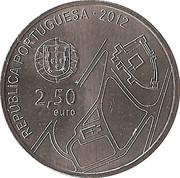 2,50 euros Centre historique de Guimarães (cupronickel) – avers