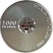 1000 escudos Euro 2004 (BE) – avers