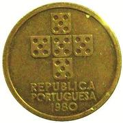 1 escudo (essai) – avers