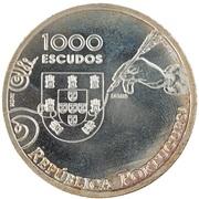 1000 escudos Diogo de Couto (Essai) – avers
