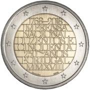 2 euros Imprensa Nacional - Casa da Moeda -  avers