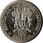 100 escudos Autonomie régionale des Açores – avers