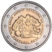 2 euros Jardin botanique d'Ajuda -  avers