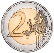 2 euros Jardin botanique d'Ajuda -  revers