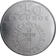 250 escudos Révolution des Œillets – avers