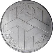 250 escudos Révolution des Œillets – revers