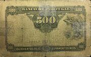 500 Reis – revers
