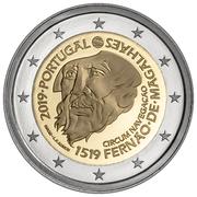 2 euros Fernand de Magellan -  avers
