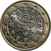 1 euro (2e carte) -  avers