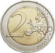 2 euros ONU -  revers