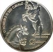 1000 escudos Cheval lusitanien -  revers
