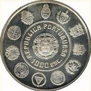 1000 escudos Cheval lusitanien -  avers