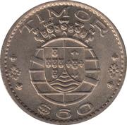 60 centavos – avers