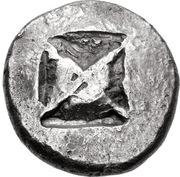 Tetradrachm (Potidaia) – revers