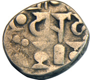 1 Drachm - Mihara Bhoja I (Gujara Pratiharas) – revers