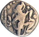 1 Drachm - Mihara Bhoja I (Gujara Pratiharas) – avers