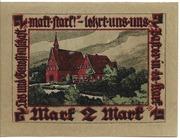 2 Mark (Baugenossenschaft Eigenheim) – revers
