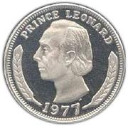 50 cents - Leonard I – avers