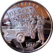 5 dollars - Leonard I (Desert Storm - U.S. Jeep) – revers