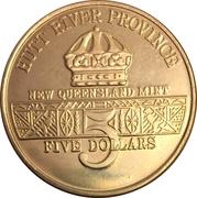 5 dollars - Leonard I (U.S. Jeep) – avers