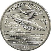 """5 dollars - Leonard I (U.S. F4-G Phantom """"Wild Weasel"""" Jet Fighter) – revers"""