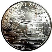 5 Dollars - Leonard I (Battleship U.S.S. Missouri) – revers