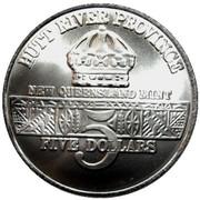 5 Dollars - Leonard I (Battleship U.S.S. Missouri) – avers