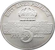 5 Dollars - Leonard I (U.S. Airborne Troops) – avers