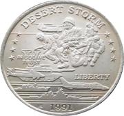5 Dollars - Leonard I (U.S. Airborne Troops) – revers