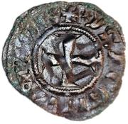 Denier - Isabelle de Villehardouin (1297-1301) – revers