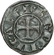 Denier - Charles II d'Anjou (1285-1289) – avers