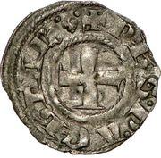 Denier - Philippe Ier de Tarente (1307-1313 – avers