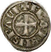 Denier - Florent de Hainaut (1289-1297) – avers