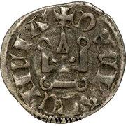Denier - Florent de Hainaut (1289-1297) – revers