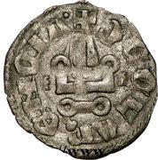 Denier - Philippe Ier de Tarente (1307-1313 – revers