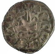 Denier - Mathilde de Hainaut (1316-1318) – revers