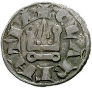 Denier - Charles I d'Anjou – revers