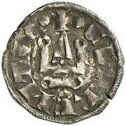 Denier - Guillaume II (1246-1278) – revers