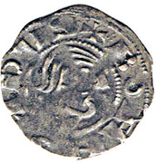 Denier à la Tête Nue Bohemond III Minorité – avers