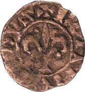 Pougeoise au Lys- Bohemond IV – avers